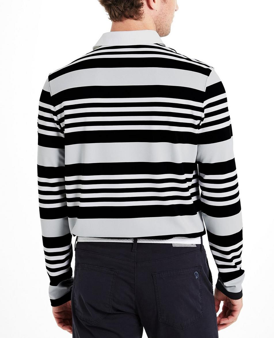 The Benson Stripe L/S Polo