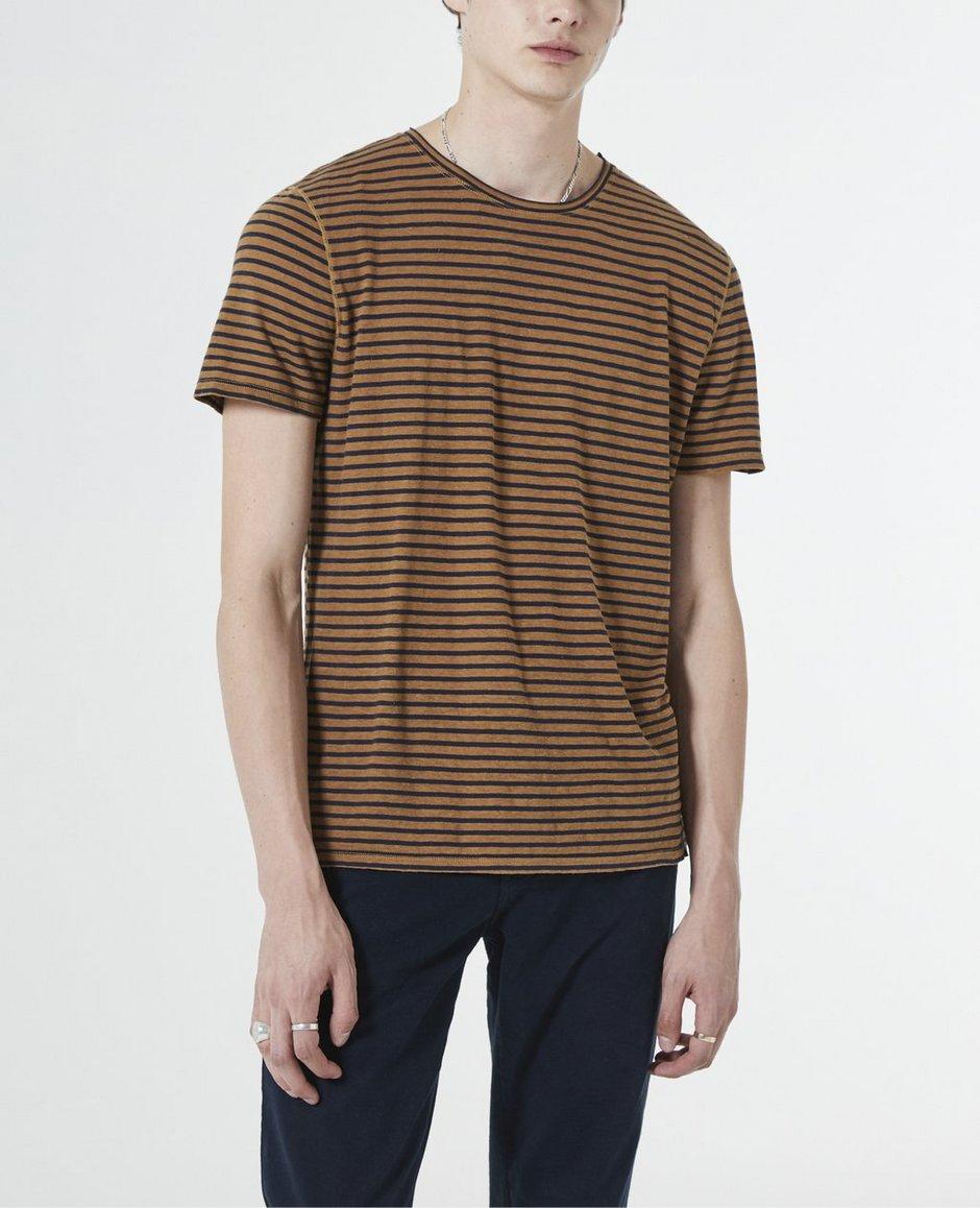 6dda14e6b766 Off White Linen Shredded Clay T Shirt – EDGE Engineering and ...