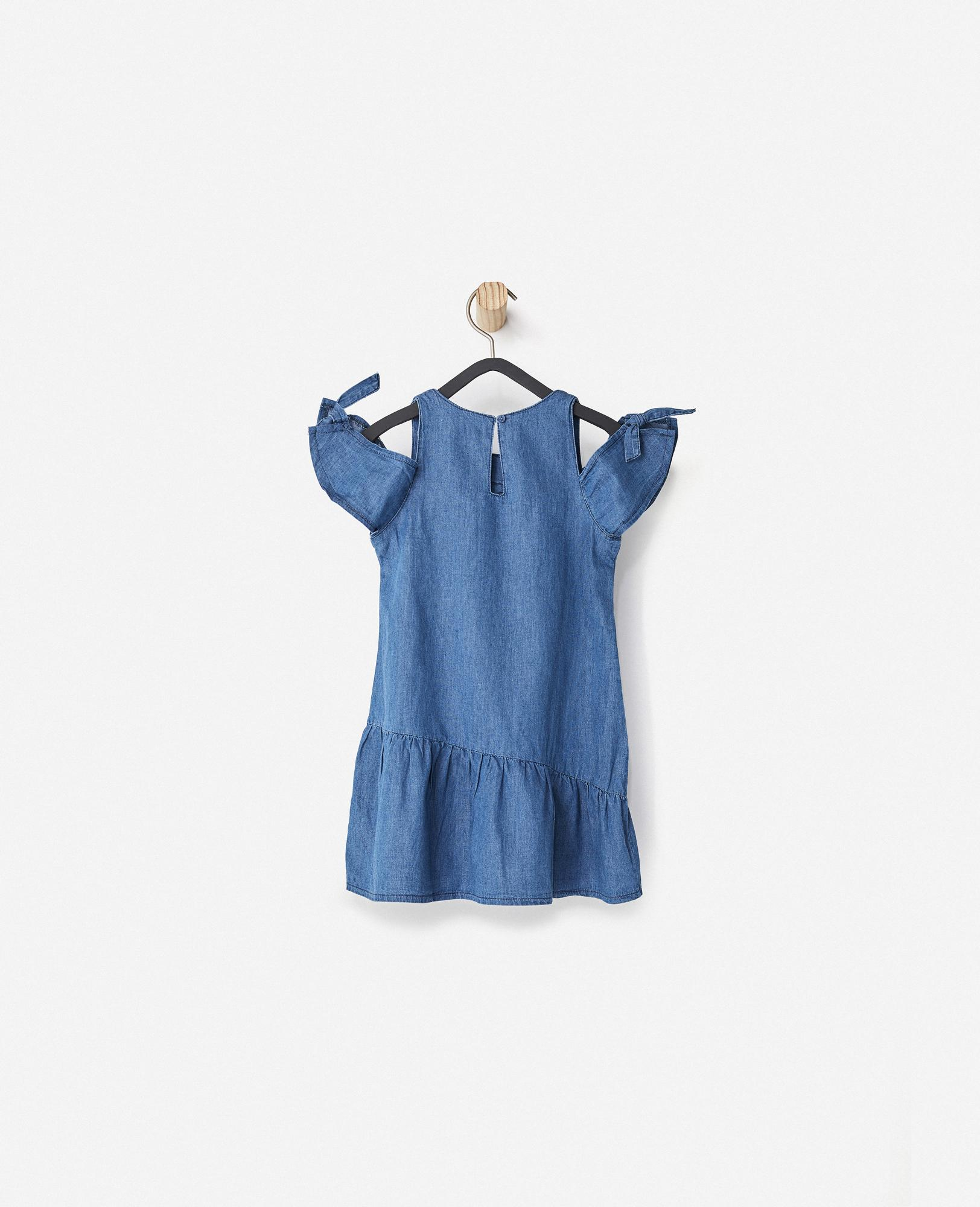 The Denim Dress (Little Girls)