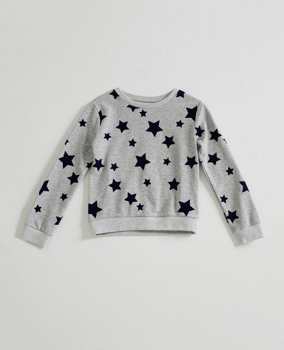 The Star Sweatshirt (Little Girls)
