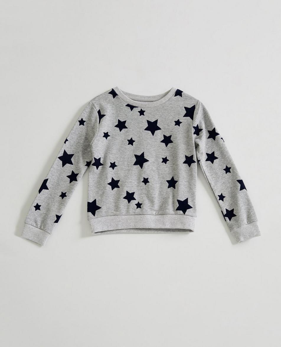 The Star Sweatshirt (Little Girls)