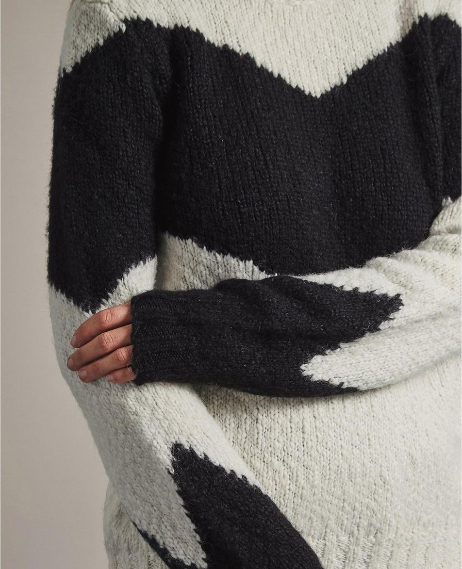 The Leila Chevron Sweater