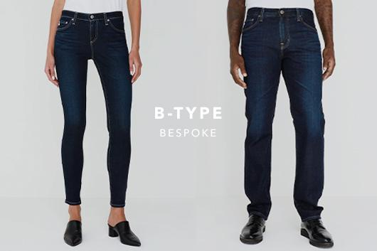Discover our newest fit in B-Type for Men and Women