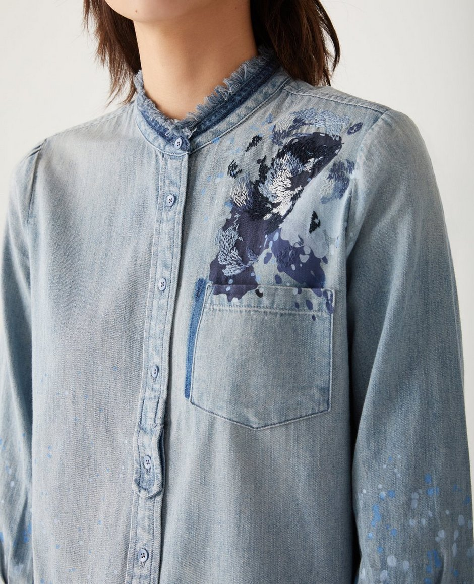 The Courtney Button Up