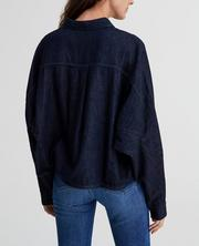 The Acoustic Dolman Button Up Shirt