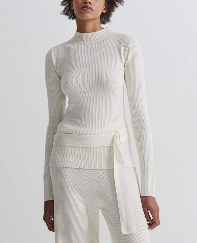 Quinton Mock Neck Knit