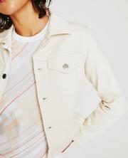 Jade Cropped Jacket