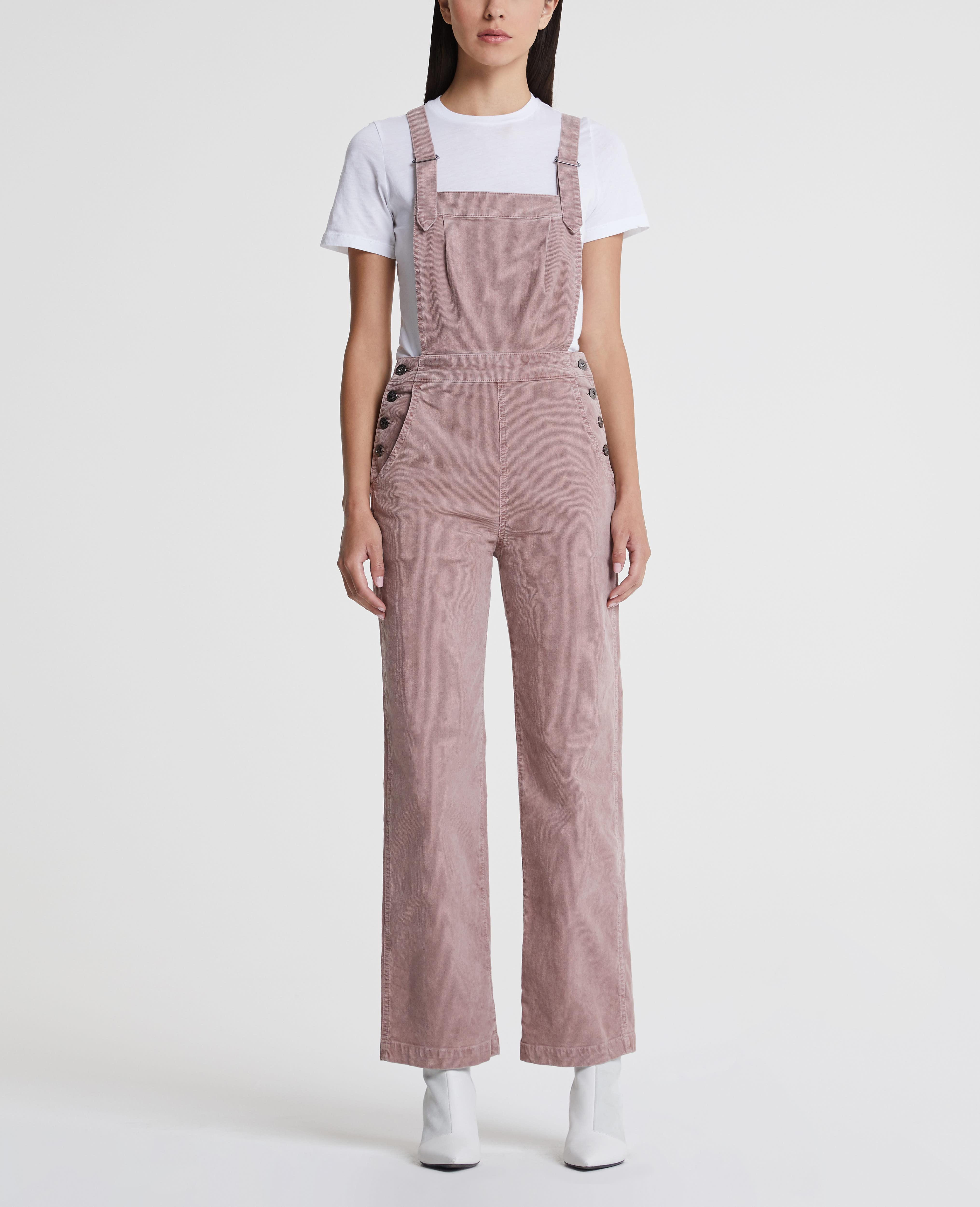 b8d7fa29c8b The Gwendolyn Overall in Sulfur Pale Wisteria AG Jeans Official Store