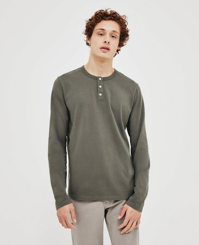 Ivan Henley Long Sleeve Tee