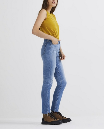 factory price fashion style of 2019 better price for High-Rise Skinny Jeans: The Sophia Ankle at AG Jeans ...