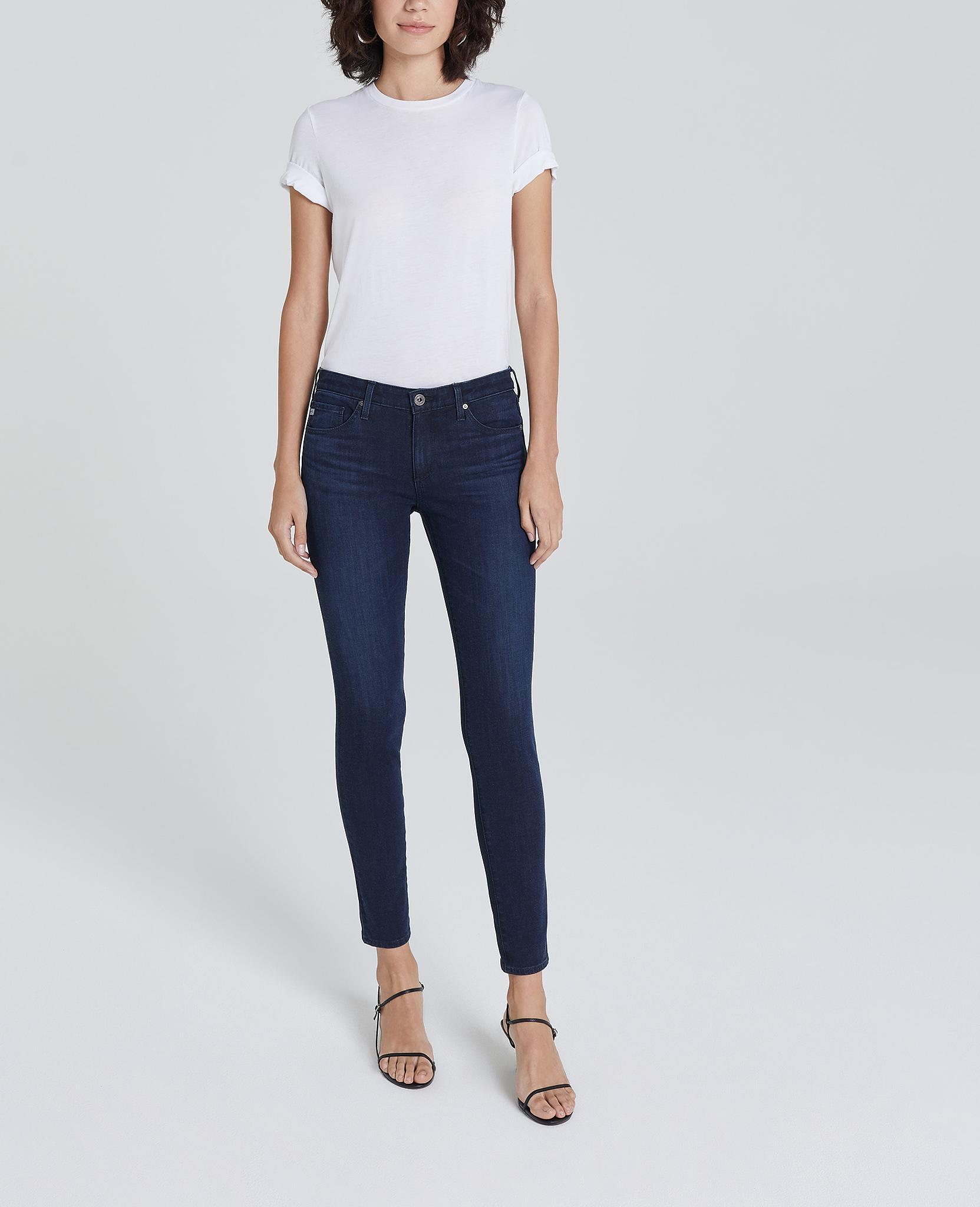 AG Adriano Goldschmied Womens Farrah Skinny Ankle Jean