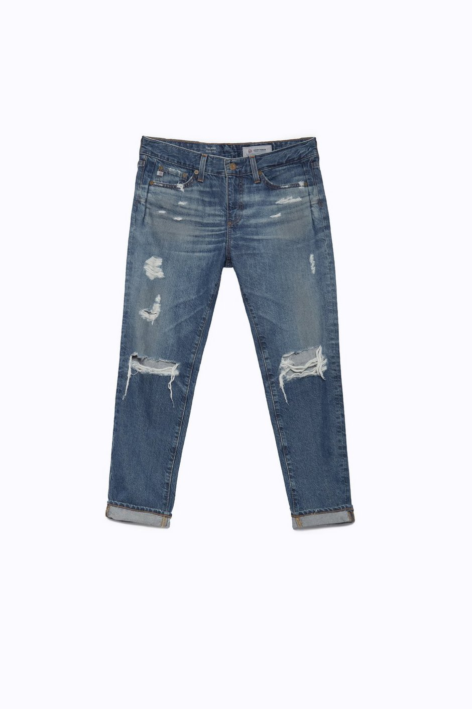 The Beau In 16 Years Hourglass Sand Boyfriend Jeans AG Jeans
