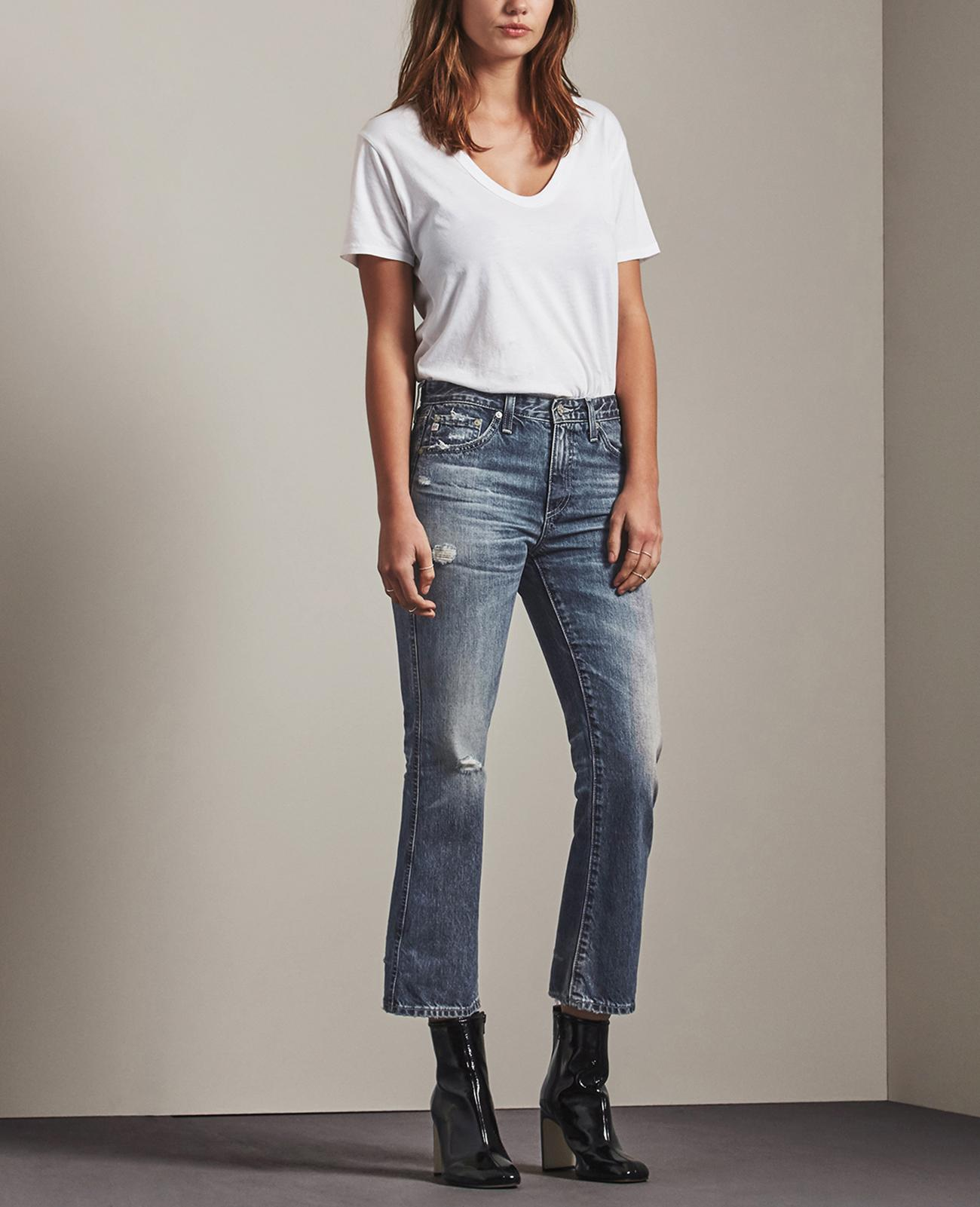The Store Years Wind Ag Jeans Official Worn Jodi Crop 23 In D9EYWH2I