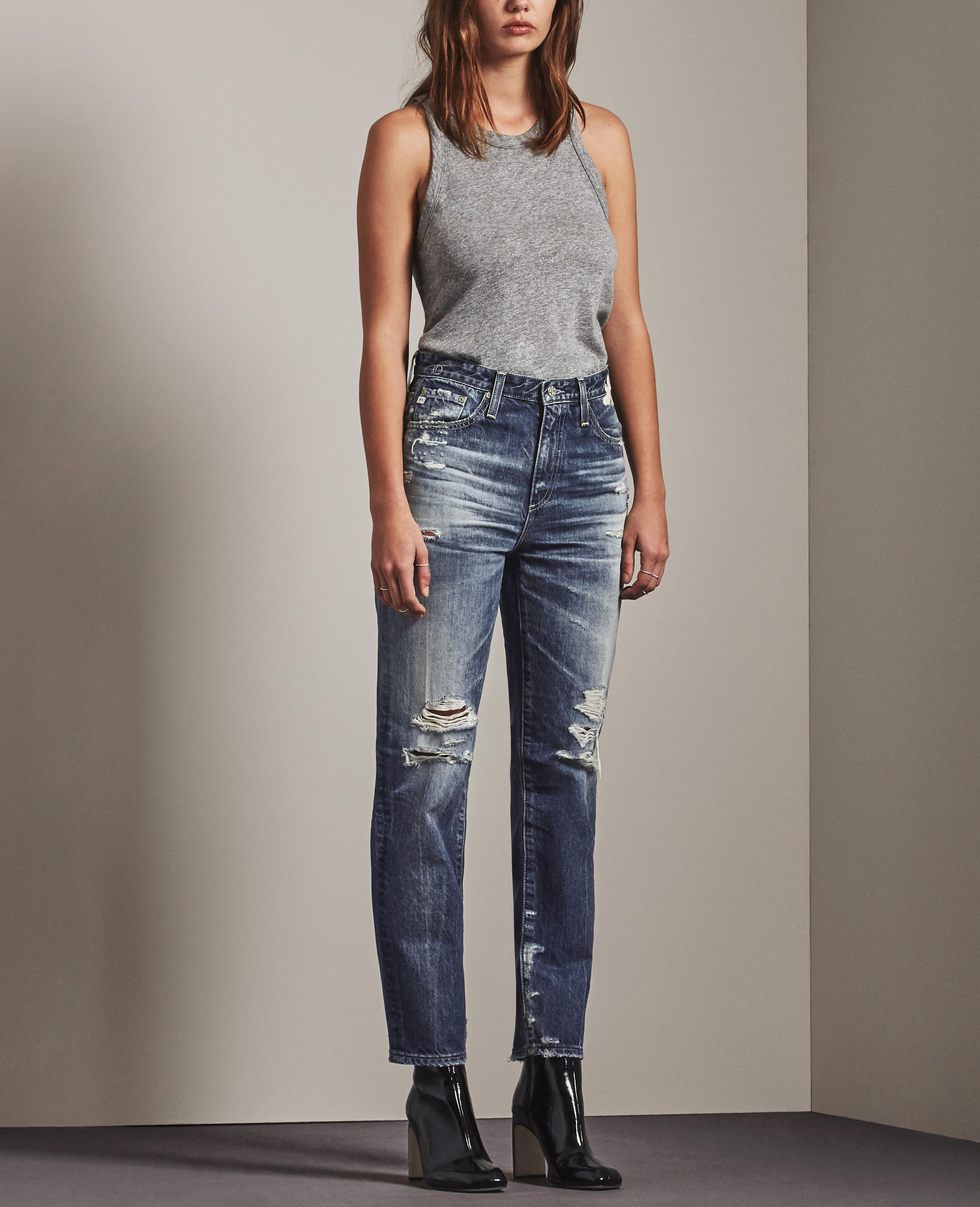 AG Adriano Goldschmied Womens Phoebe Vintage High Rise Jean