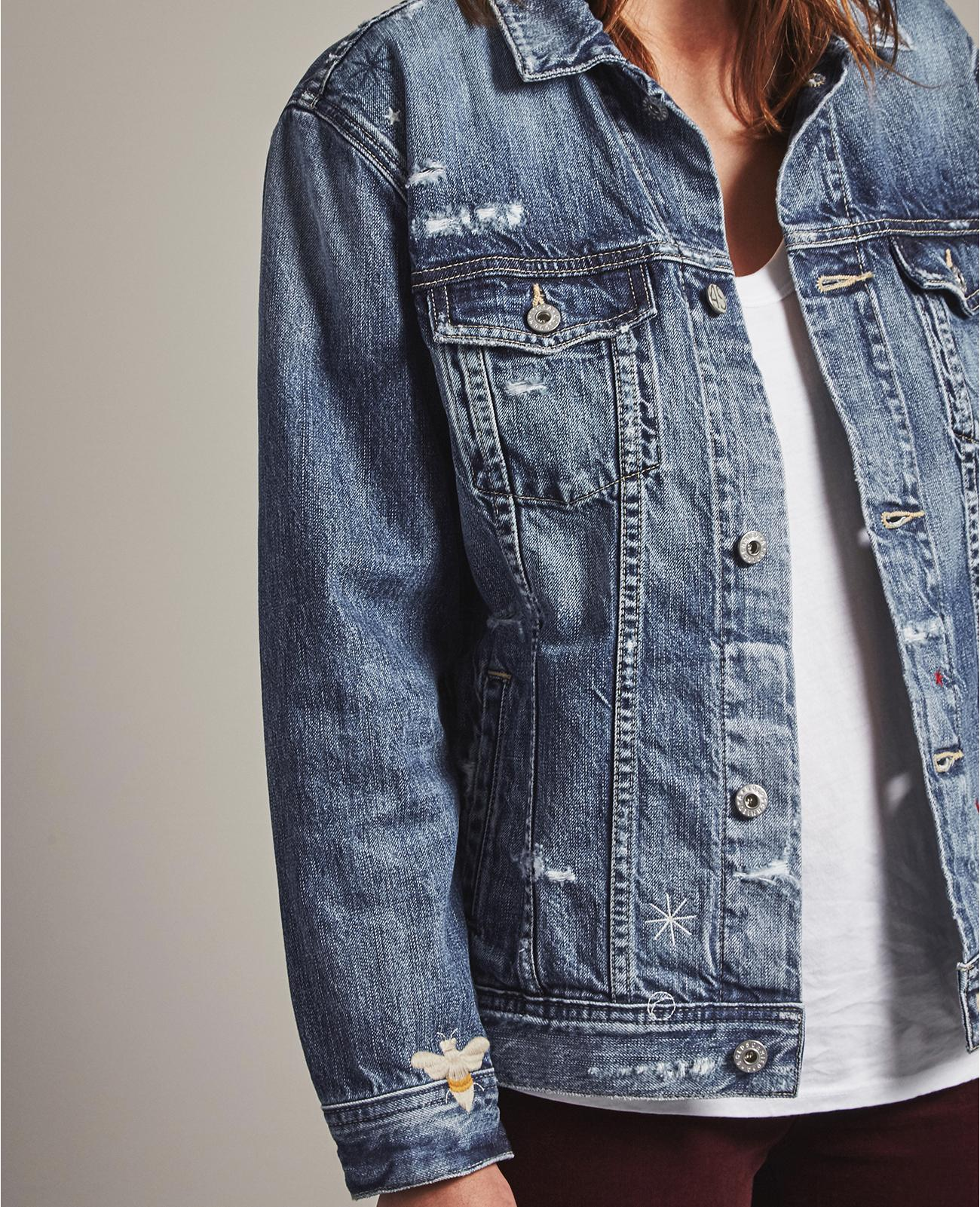 eed02120dab0e The Nancy Jacket in 23 Years - Woven Dream AG Jeans Official Store