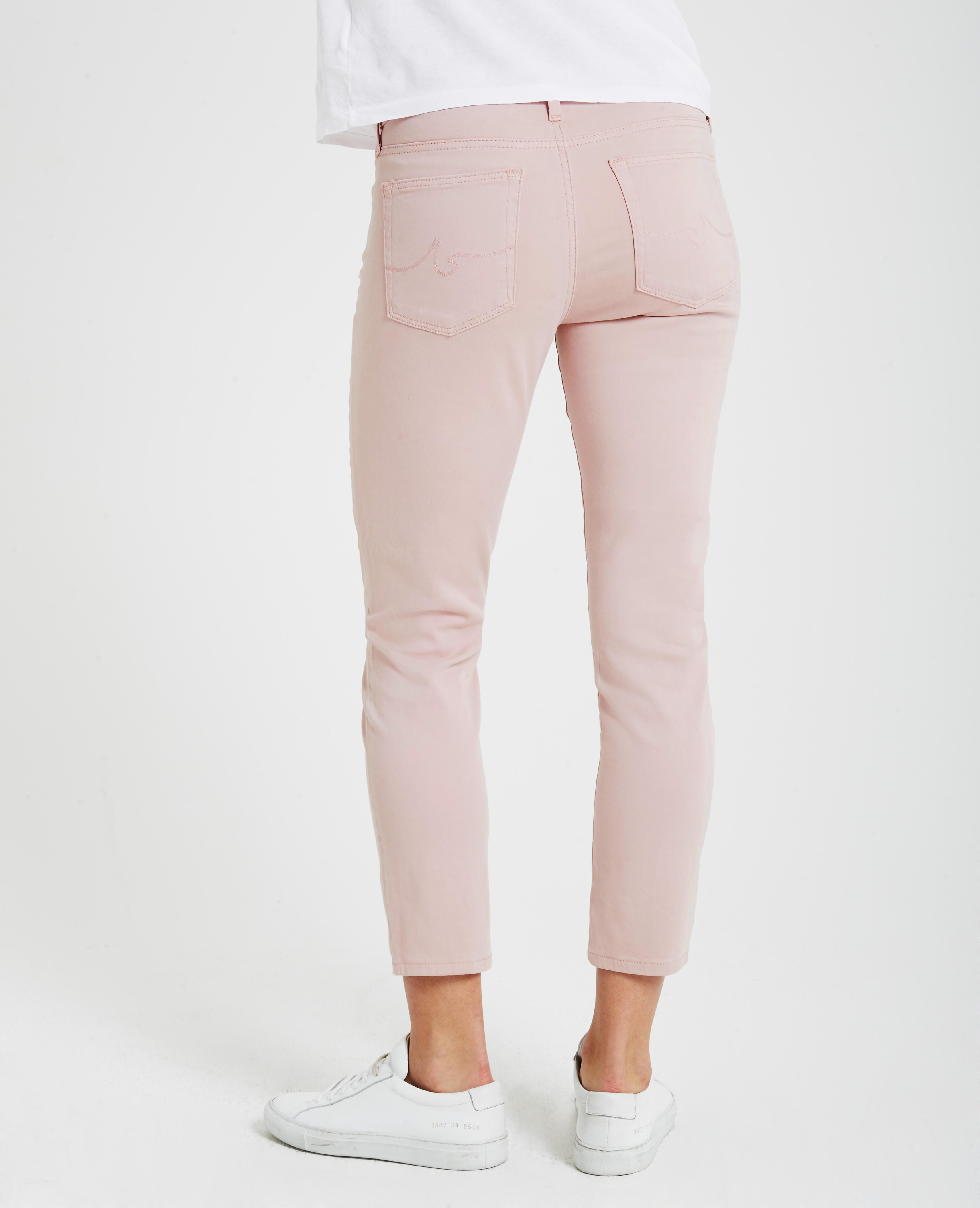 7f7446405b8 The Prima Crop in Rose Quartz AG Jeans Official Store