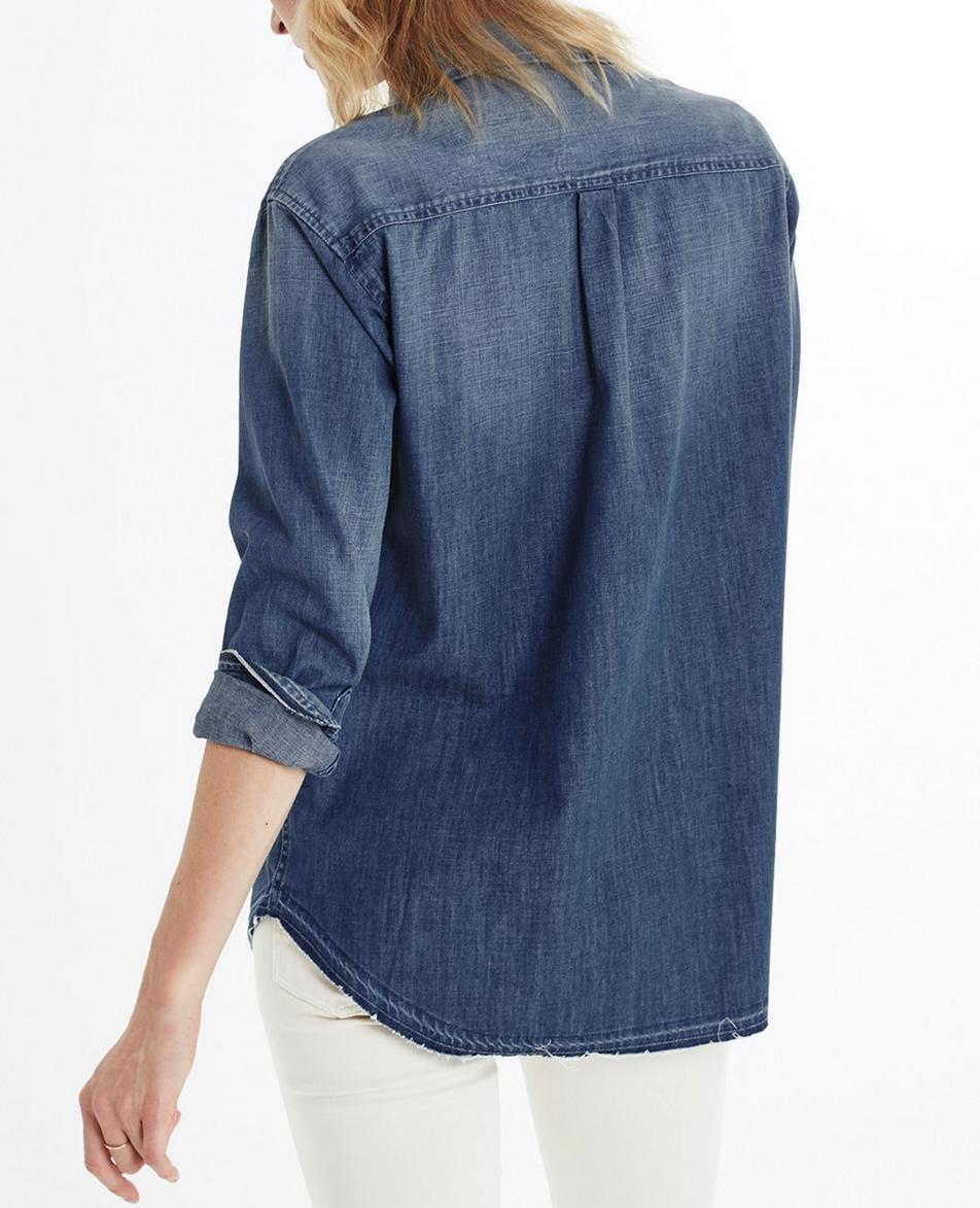 Raw Hem Hartley Shirt