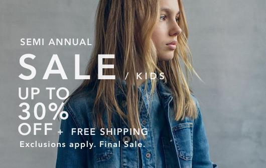 Shop Kids Semi Annual Sale