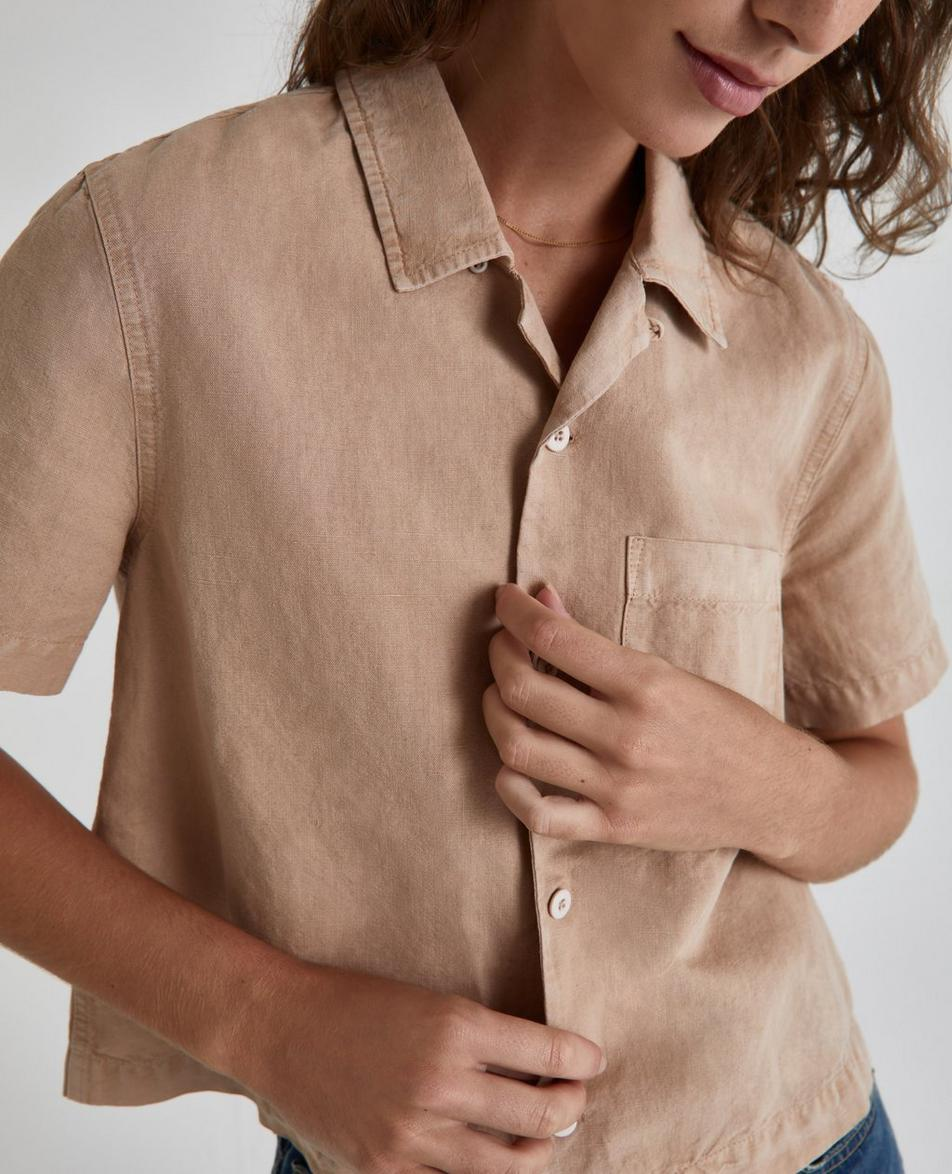 The Brooklyn Cropped Shirt