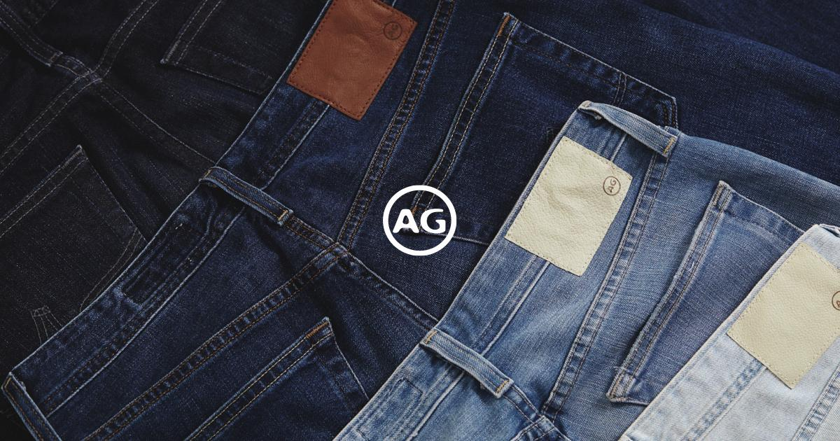 Men's Slim Fit Jeans Tapered Mens Jeans at AG Jeans