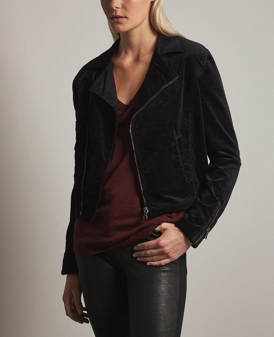The Quincy Biker Jacket
