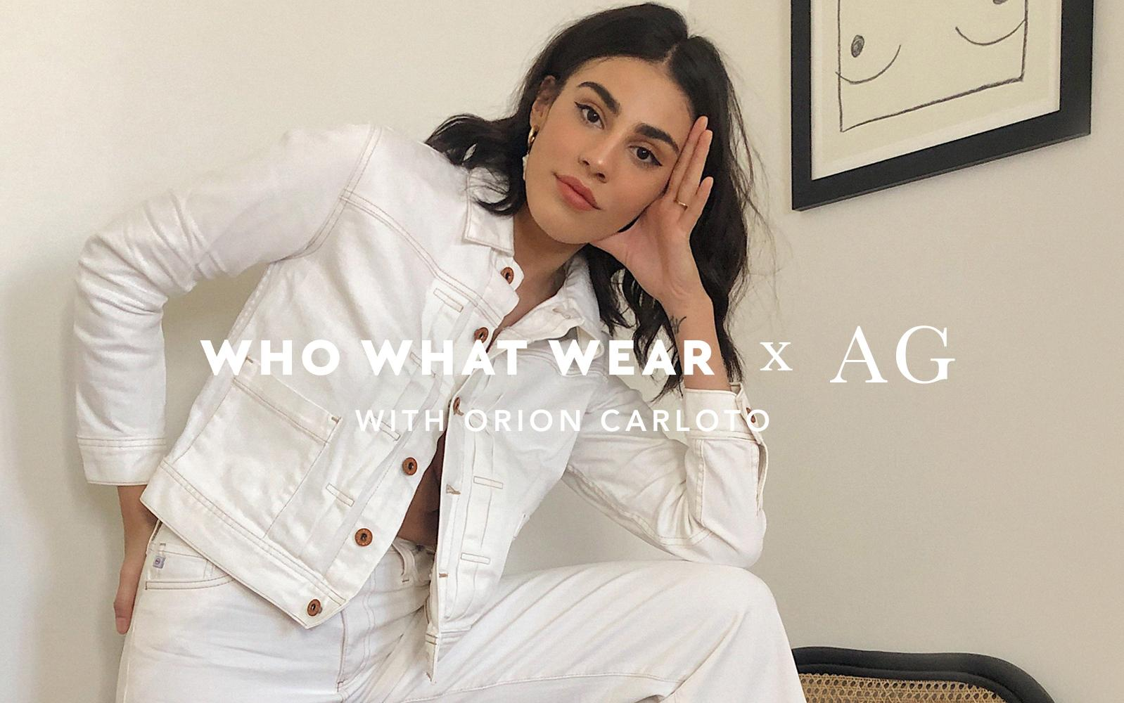 Who What Wear and AG Style Edit