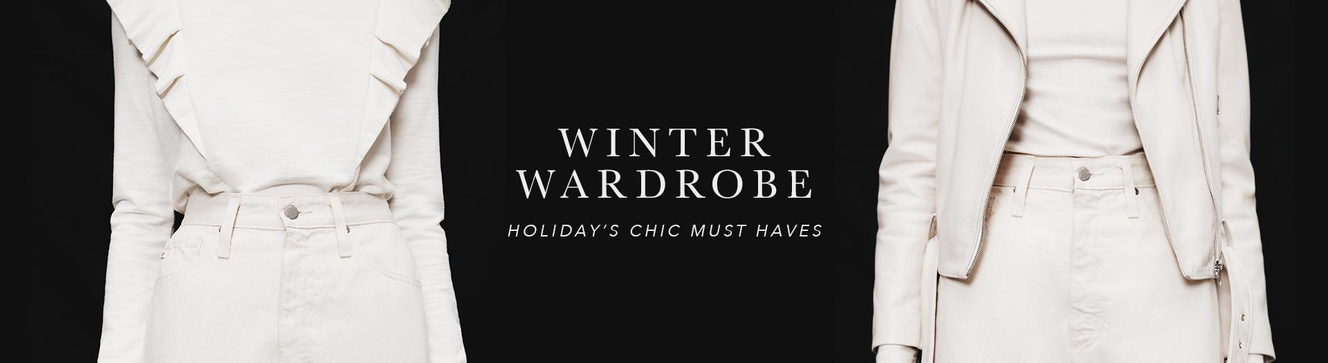 Our winter wardrobe collection promises to keep you lookin' damn good all season long (and beyond).