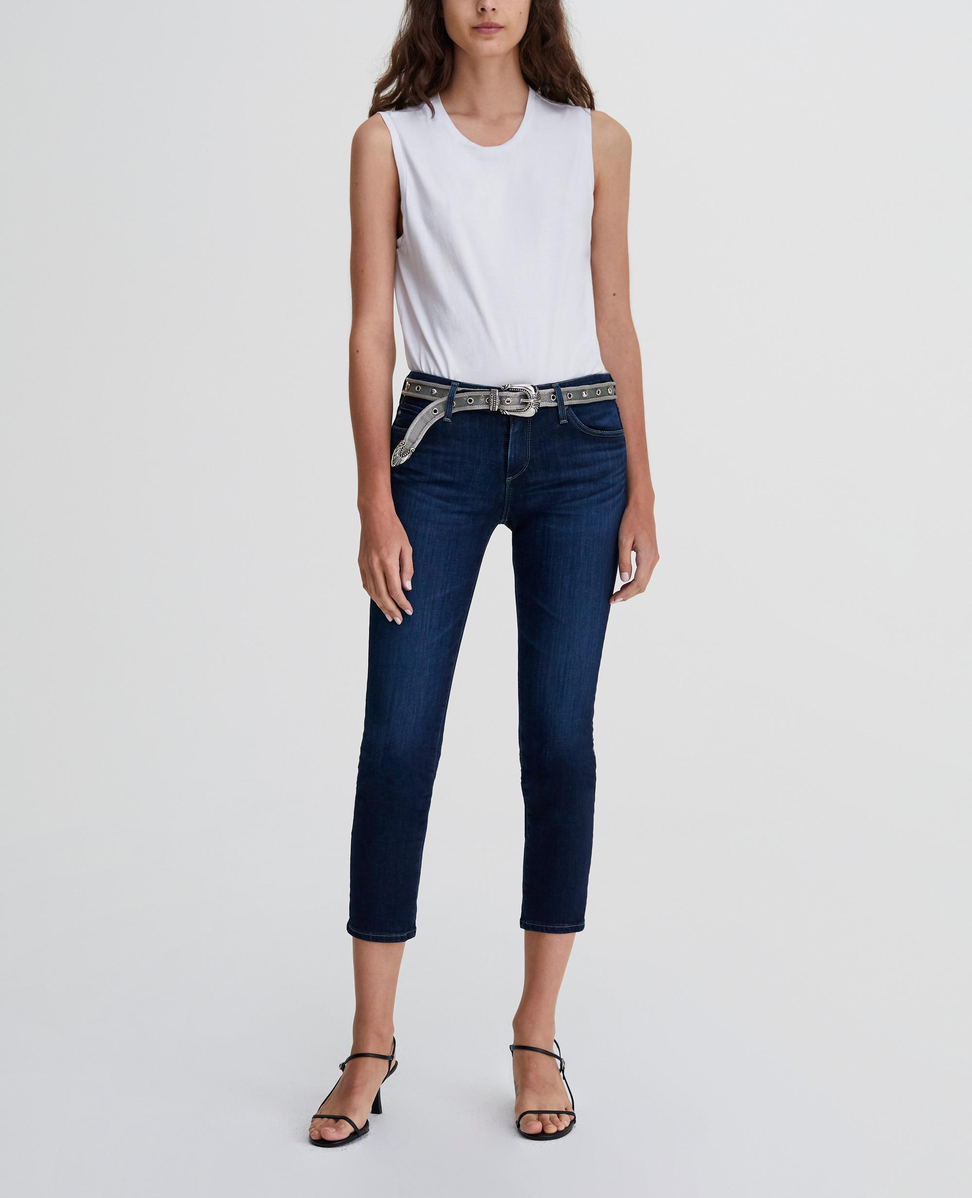 32cc1b45edc389 The Prima Crop in Concord AG Jeans Official Store