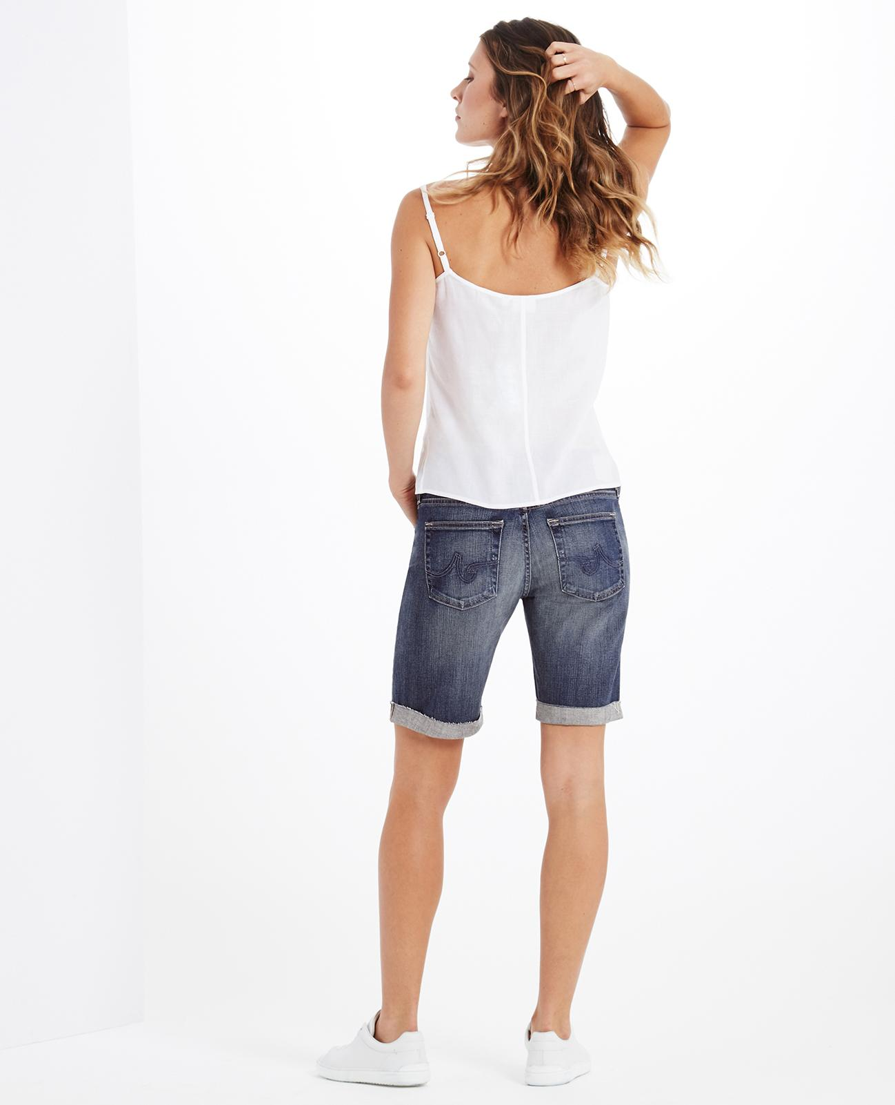 adb064b206 The Nikki Short in 10 Years Dispatch AG Jeans Official Store