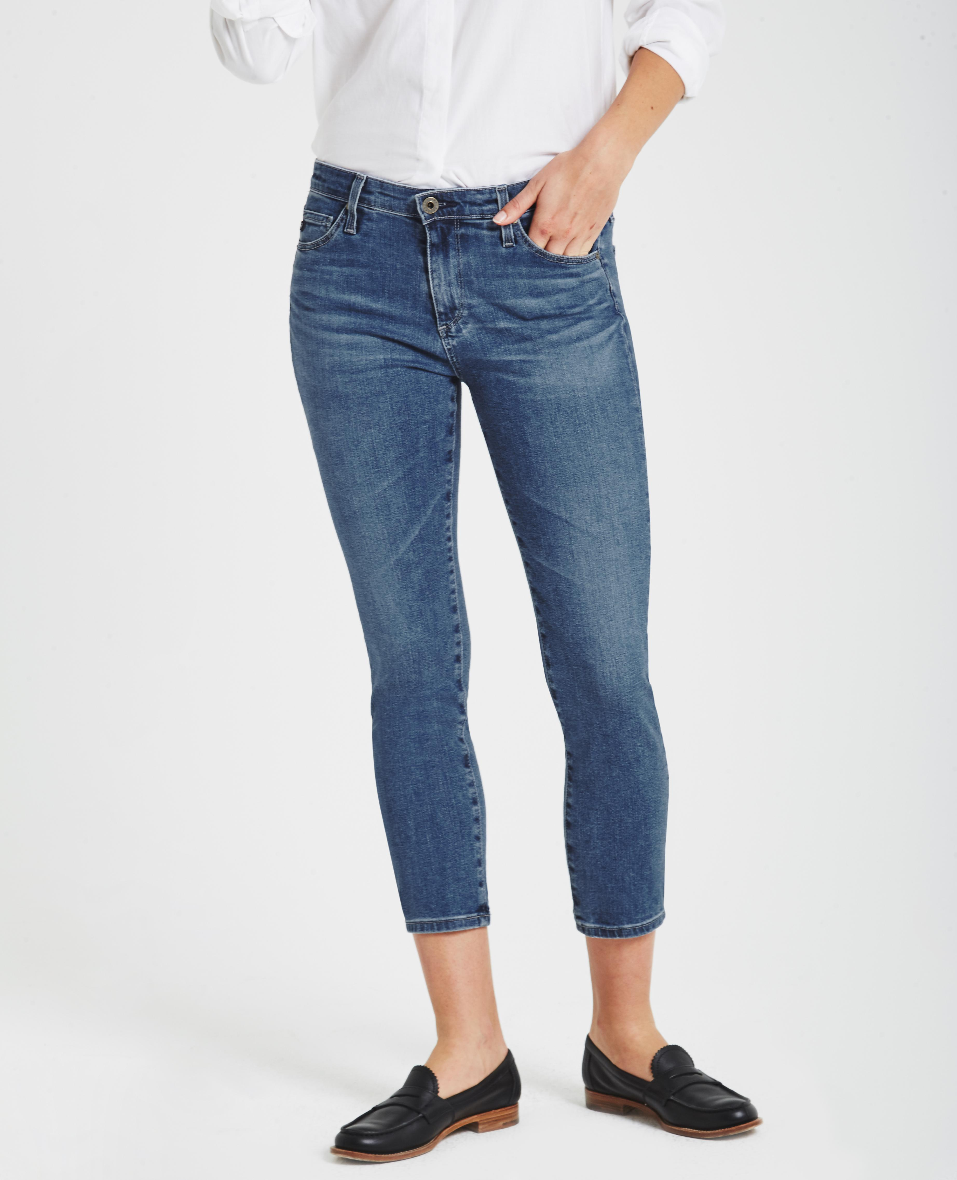 e80c2a67b946 The Prima Crop in Hiatus AG Jeans Official Store
