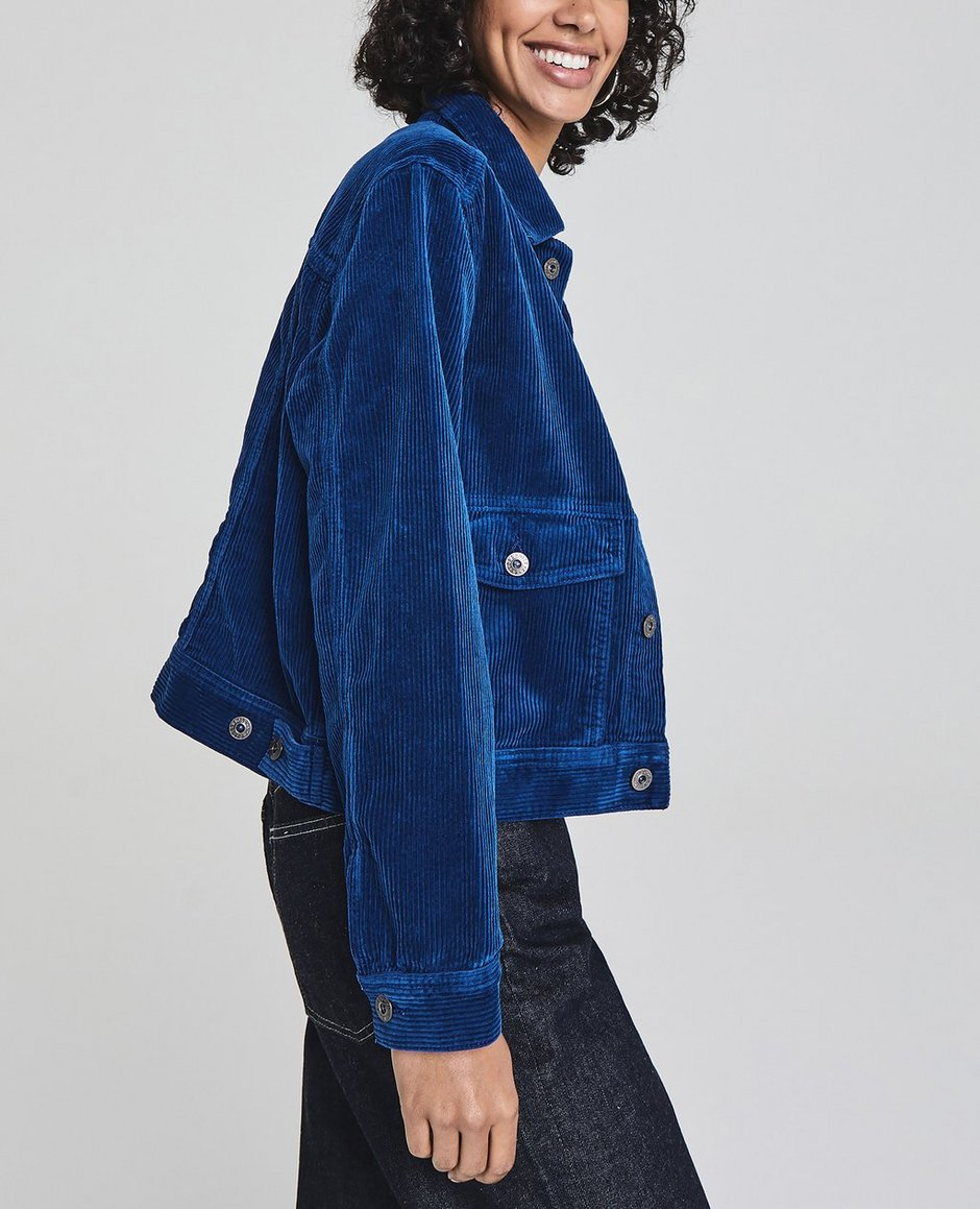 The Evonne Workwear Cropped Jacket