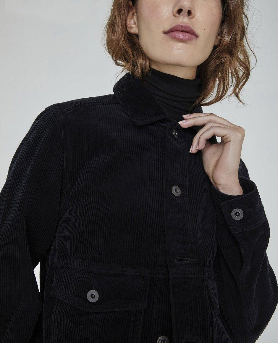 The Evonne Workwear Cropped Jacket