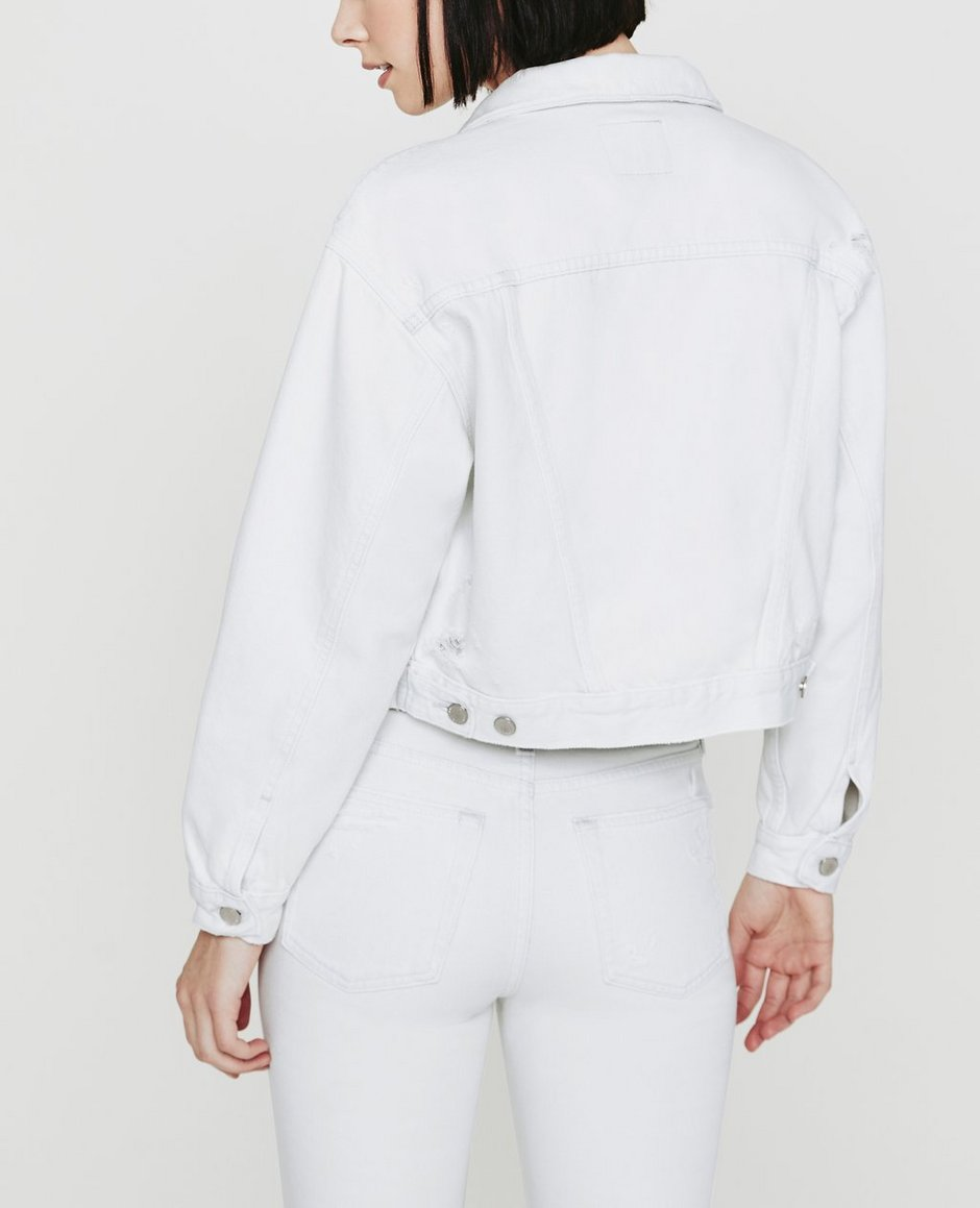 The Mirah Cropped Trucker Jacket