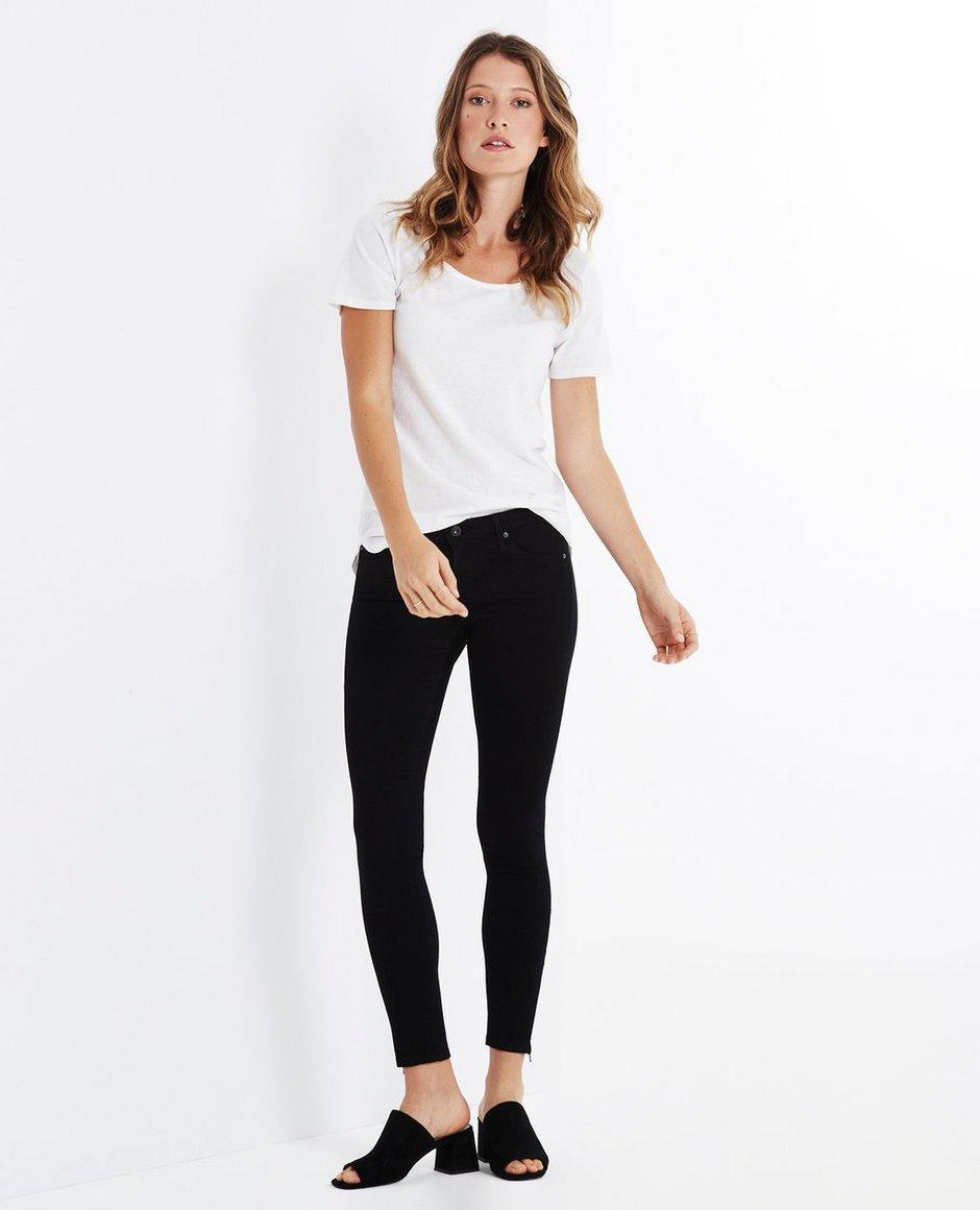 The Denim Legging Ankle