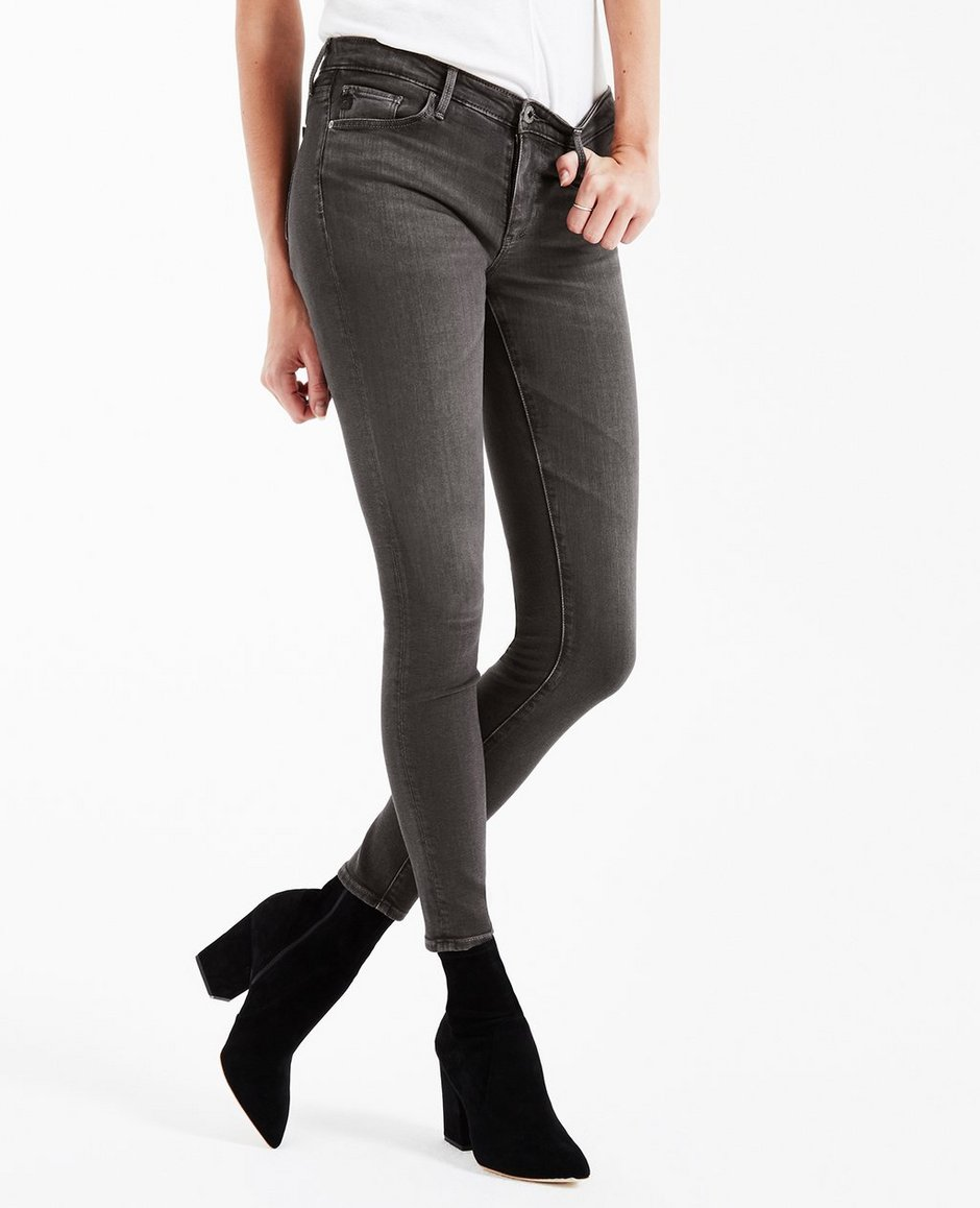 9daaf993e08d The Legging Ankle In Grey Mist Skinny Jeans AG Jeans Official Store