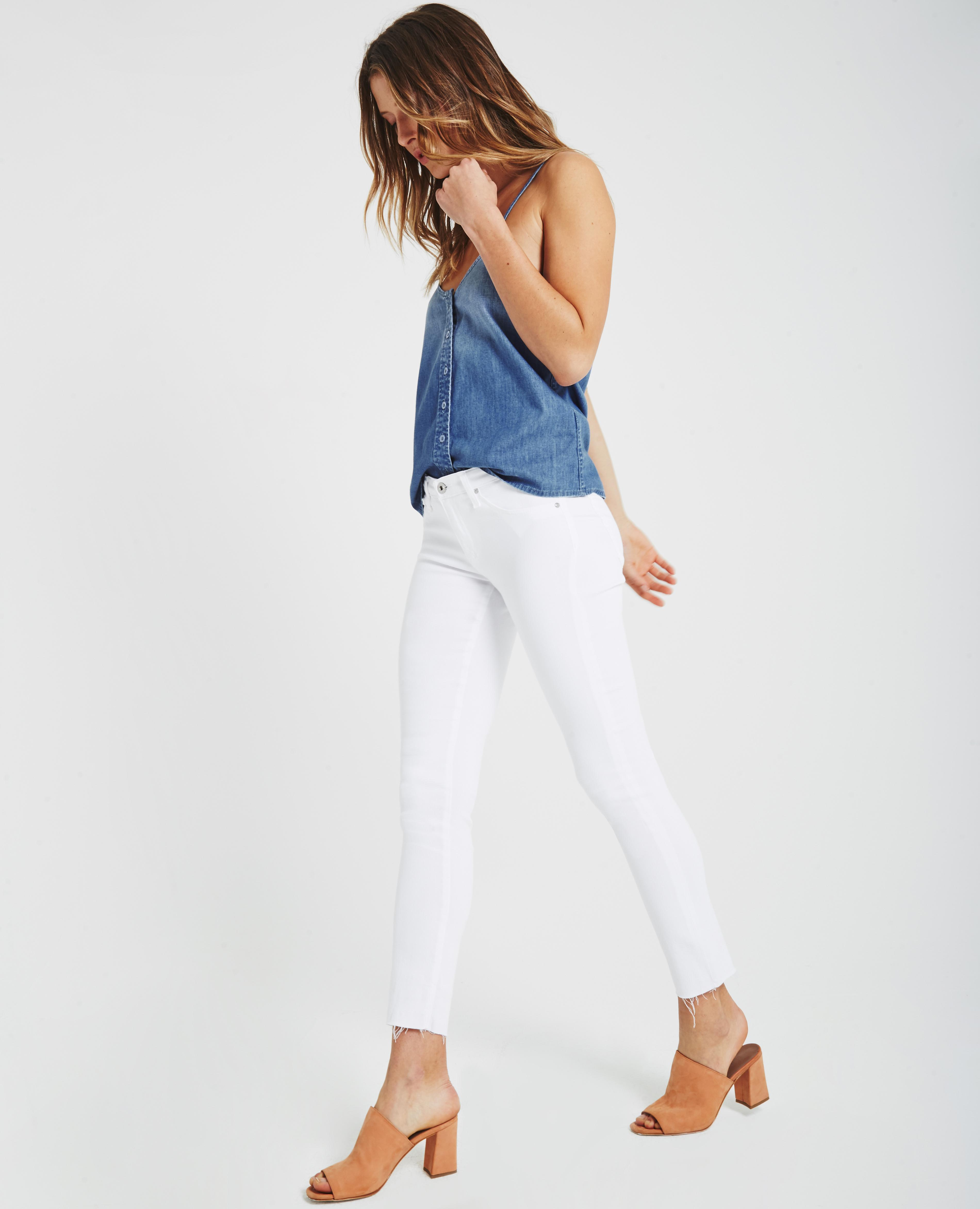 The Legging Ankle In White AG Jeans Official Store db87d2473