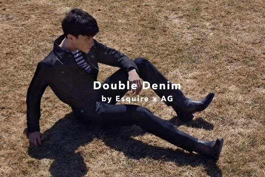 Shop Esquire double denim styles with AG