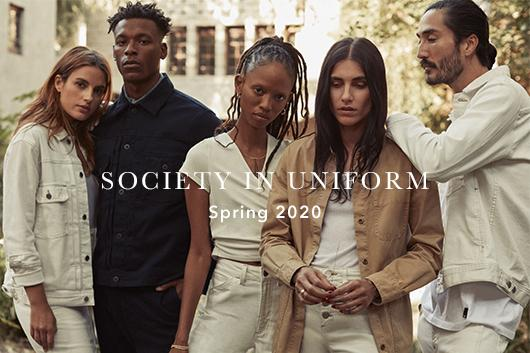 Learn about the Spring 2020 Collection Society In Uniform at AG Jeans