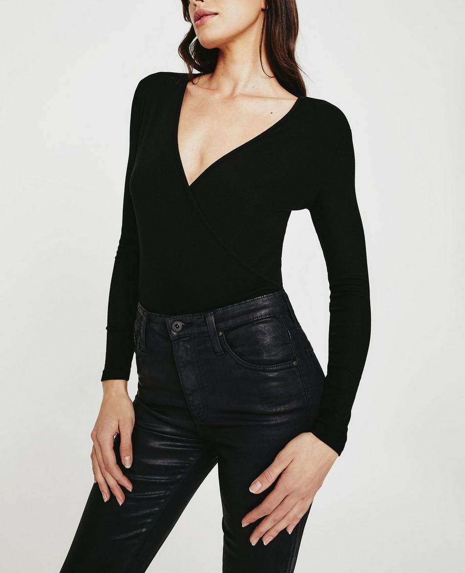Diane L/S V-Neck Wrap