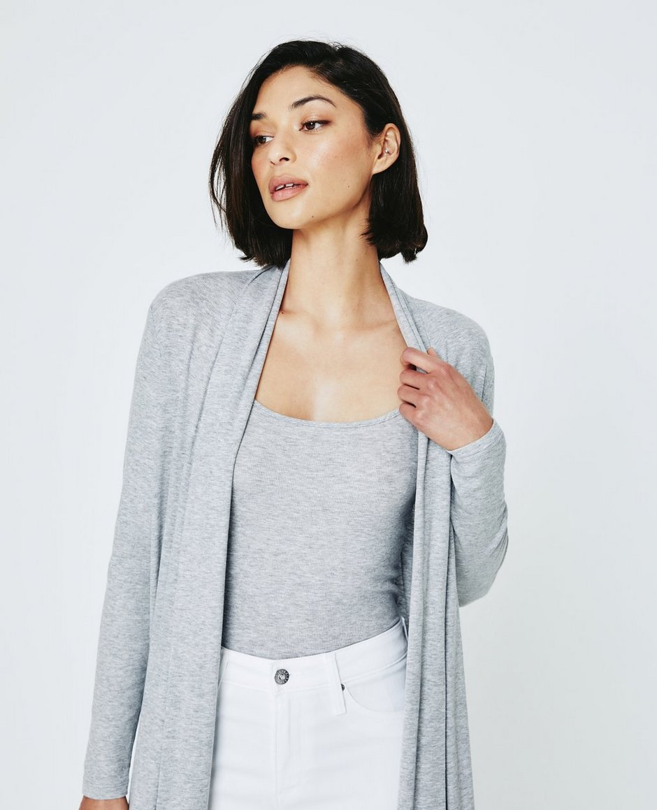 Sophie Extended Shawl Cardigan