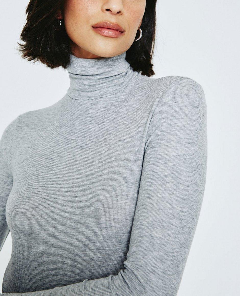 Jenny L/S Turtleneck Dress