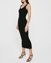 Jean Extended Scoop Neck Tank Dress