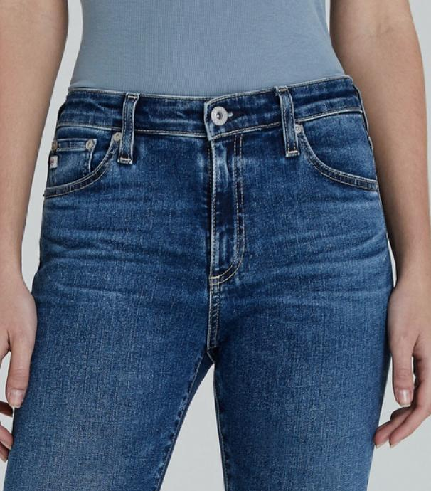 High rise denim pant for women