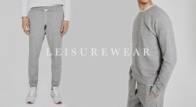 Shop men's leisurewear