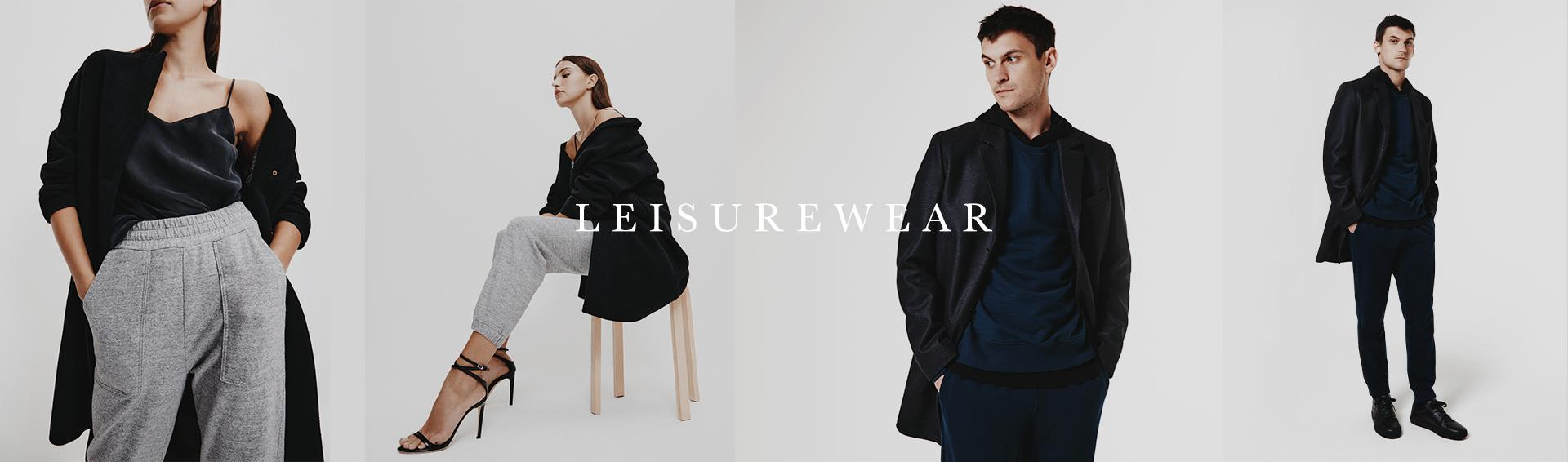Our collection of leisurewear is designed in a sophisticatedly soft, AG-made terry.