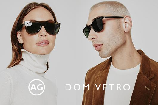The AG x Dom Vetro Collection presents a sophisticated take on tradition