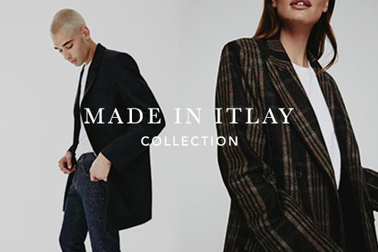 Shop our new Made In Italy Collection