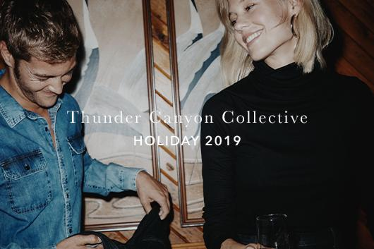 AG Holiday Campaign Lookbook - Thunder Canyon Collective