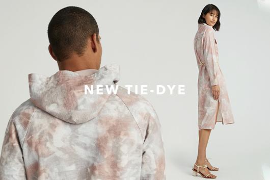 Shop new tie-dye styles for men an women