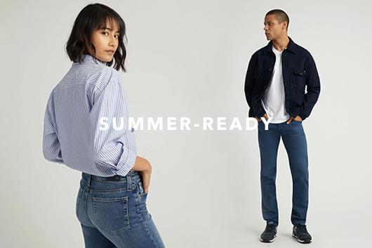 Shop the newest summer essentials for men and women
